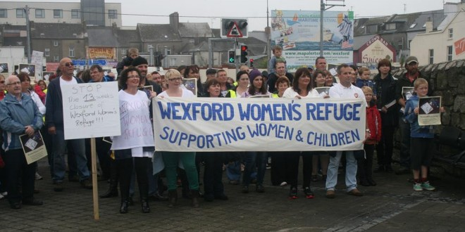 Wexford Women's Refuge Protest