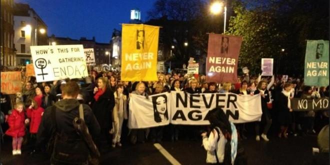 Savita Protest Picture