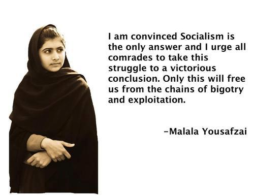 an inspiring quote by malala yousafzai