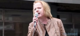 "Ruth Coppinger TD Socialist Party speaking at ""Our Bodies, Our Rights Rally to Repeal the 8th """